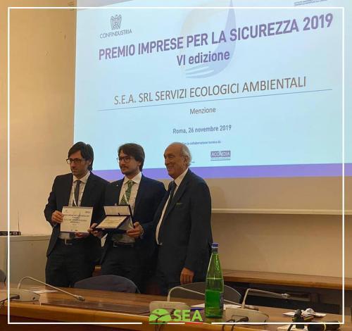 Premio imprese per la sicurezza 2019